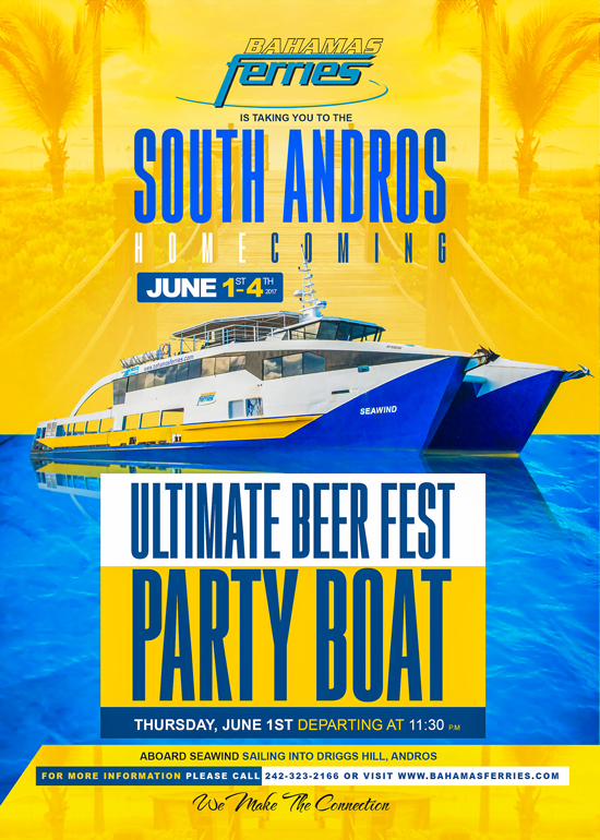 Bahamas Ferries South Andros Homecoming 2017