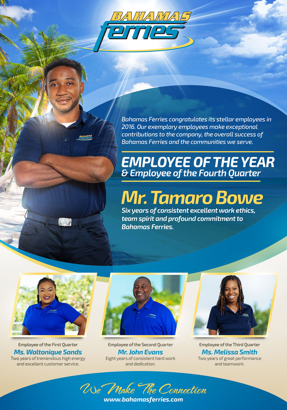 congratulations to our employee of the year  u0026 employee of